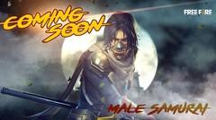 Male Samurai Skin Coming Soon - Garena Free Fire
