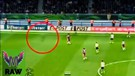 Sosok 'Bayangan Hitam' Berlari lari di Lapangan Muenchen vs Dortmund