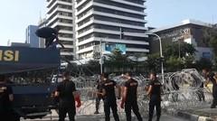 Pasca Ditutup, Akses Jalan MH Thamrin Mulai Dibuka Bertahap