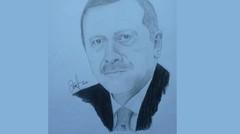 Membuat Sketsa Bapak Erdogan || #2