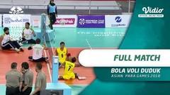 Full Match Bola Volly Duduk - Asian Para Games 2018