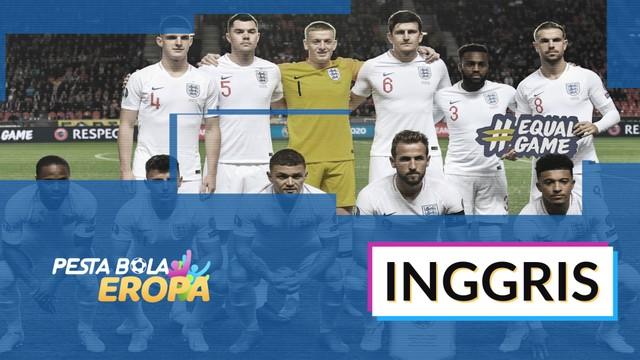 Streaming Profil Tim Inggris Di Piala Eropa 2020 Vidio Com