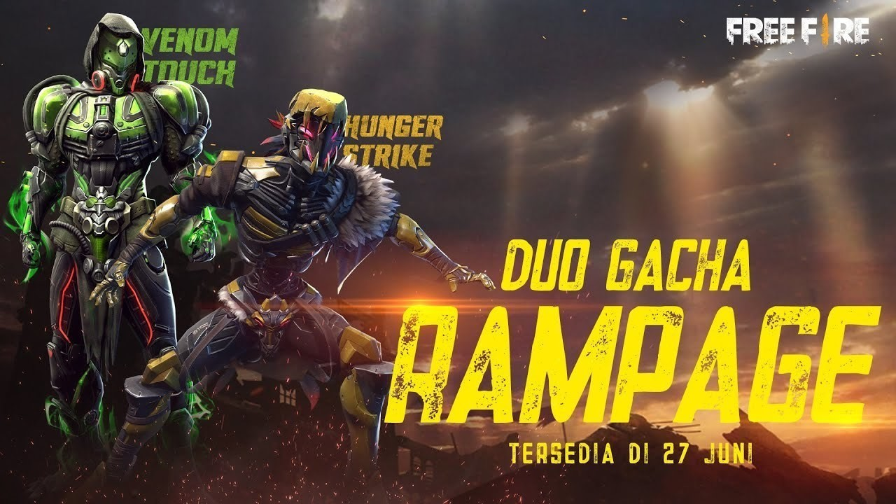 Streaming Venom Touch Hunger Strike Akan Segera Menginvasi Duo Gacha Rampage Di Free Fire Vidio Com