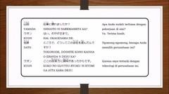 Belajar Bahasa Jepang - Pelajaran 15 (Menanyakan Alasan)