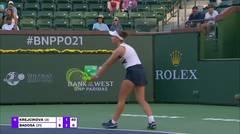 Match Highlights | Paula Badosa 2 vs 0 Barbora Krejcikova | BNP Paribas Open 2021