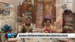 Wasekjen PDI-P: Pertemuan Prabowo dan Megawati Bukan Soal Koalisi