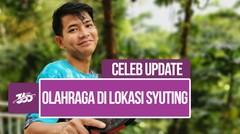 Celeb Update! Hobi Asyik Angga Putra Bareng Pesinetron Anak Band