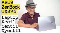 Laptop Kecil, Centil, Nyentil - ZenBook 13 UX325 review