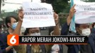 Setahun Pemerintahan Jokowi-Ma'ruf Amin, Mahasiswa Beri Rapor Merah
