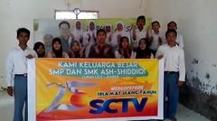 SMP & SMK ASH-SHIDDIQI CURAHLELE Greeting Pemirsa SCTV yg ke 25