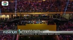 Pengamanan Diperketat saat Penutupan Sea Games 2017 Kuala Lumpur, Malaysia - Fokus Malam