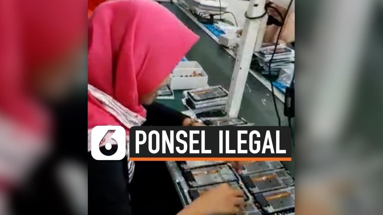 Polisi Gerebek Pabrik Ponsel Ilegal Di Jakarta Utara Vidio Com