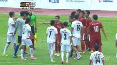 Football INA vs. MYR - Moment Keributan di Lapangan