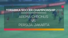Arema Chronus vs Persija Jakarta - Torabika Soccer Championship 2016