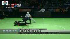 Silat dan Taekwondo Raih Medali Emas - Fokus Pagi