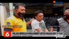 Pelaku Jambret Ponsel Ditangkap Warga