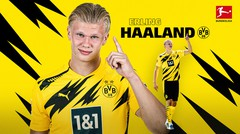 Deretan Gol Berkelas dari Bintang Borussia Dortmund, Erling Haaland di Bundesliga