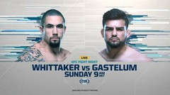 Whittaker vs Gastelum | UFC Fight Night