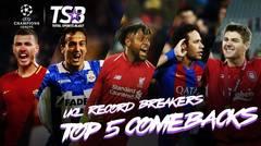 UCL RECORD BREAKERS | TOP 5 COMEBACKS