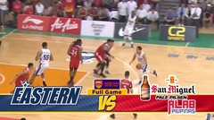 Full Games Hong Kong Eastern vs San Miguel Alab Pilipanas (Playoff Quarter Final Game 2)