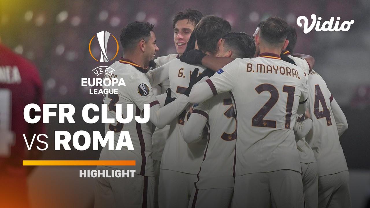 Streaming Highlight - CFR Cluj vs AS Roma I UEFA Europa ...