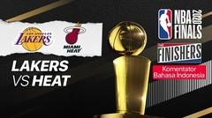 Lakers vs Miami - NBA The Finishers (Bahasa) - 10 Oktober 2020