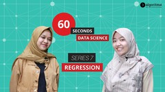 60 Seconds Data Science | Episode 7 | Regression
