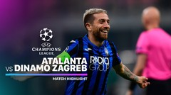 Full Highlight - Atalanta vs Dinamo Zagreb I UEFA Champions League 2019/2020