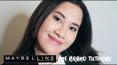 One Brand Makeup Tutorial: Maybelline   Kevina Christina