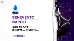Benevento vs Napoli - Minggu, 25 Oktober 2020 | Serie A 2020