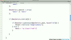 E-commerce website with PHP, MySQL, jQuery and PayPal #100 - Update user method