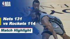 Match Highlight   Brooklyn Nets 131 vs 114 Houston Rockets   NBA Regular Season 2020/21