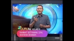 GURUku SBOTV KELAS 6 Tema : WIRAUSAHA  -  10 November 2020