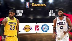 LA Lakers vs Philadelphia 76ers - 26 Jan 2020   08:30 WIB