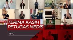 Video Inspiratif dari Zinedine Zidane,Harry Kane dan Bintang FIFA lainnya untuk Petugas Medis COVID-19