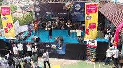 IMAGINE DRAGONS - Radioactive cover by LUNA - Live perform at SMK Sahid Jakarta 17 Dec 2015