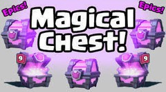 Buka magical chest + 3 golden chest + crown chest - Clash Royale Indonesia