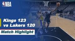 Match Highlight   Sacramento Kings 123 vs 120 LA Lakers   NBA Regular Season 2020/21