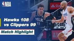 Match Highlight | Atlanta Hawks 108 vs 99 Los Angeles Clippers | NBA Regular Season 2020/21