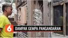 13 Rumah Dilaporkan Rusak Akibat Gempa Pangandaran