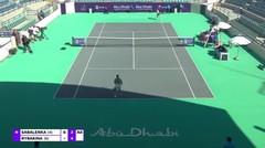 Match Highlight   Aryna Sabalenka 2 vs 1 Elena Rybakina   WTA Abu Dhabi Open 2021
