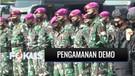 Petugas Gabungan Siapkan Pengamanan Demo di Monas dan Istana Negara