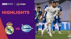 Match Highlight | Real Madrid 2 vs 0 Alaves | La Liga 2020