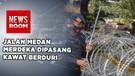 Ribuan Personil Tni & Polri Amankan Demo