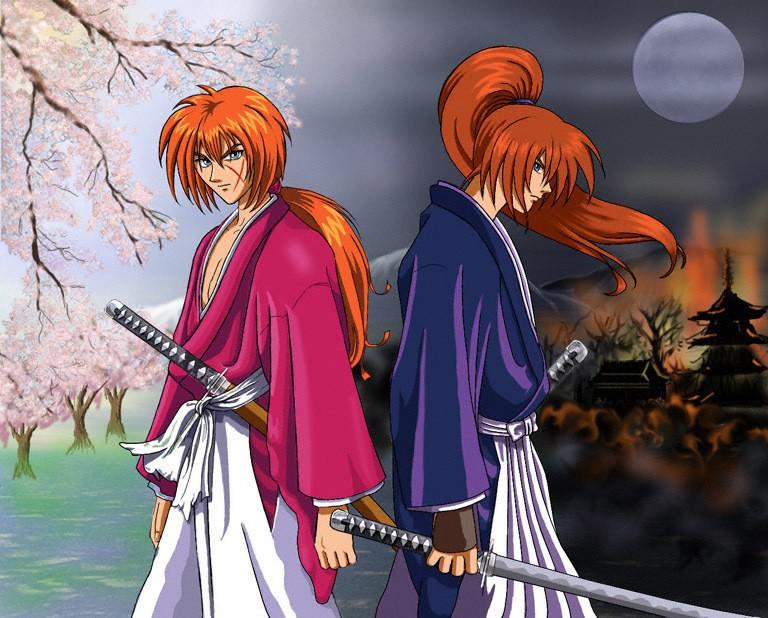 101  Gambar Kartun Samurai X Terlihat Keren