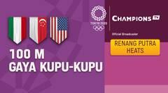 Full Match   Renang Gaya Kupu-Kupu 100m Putra Heats   Olimpiade Tokyo 2020