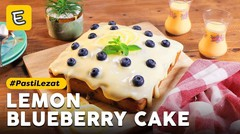 Resep Lemon Blueberry Cake