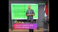 GURUku SBOTV KELAS 1 Tema : PENDIDIKAN AGAMA KATHOLIK - 08 Oktober 2020