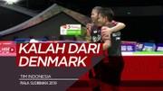 Highlights Piala Sudirman 2019, Indonesia Vs Denmark 2-3