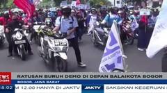 Ratusan Buruh Unjuk Rasa Di Depan Balaikota Bogor